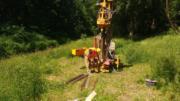 Brzesko- wykonanie piezometrów rz. Uszwica- MH-Geo  (4)