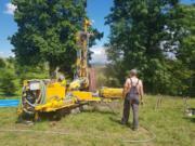 MH-Geo - wiercenie studni - Podhale - młotek dolny (1)