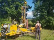 MH-Geo - wiercenie studni - Podhale - młotek dolny (2)
