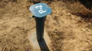 Samborzec - instalacja piezometrów na terenie składowiska odpadów (2)